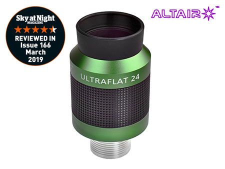 Altair 24mm ULTRAFLAT Eyepiece - Precision barrel stainless steel