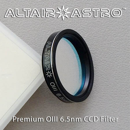 Altair Astro Premium Narrowband 6.5nm OIII CCD Filter 1.25