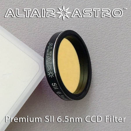 Altair Astro Premium Narrowband 6.5nm SII CCD Filter 1.25