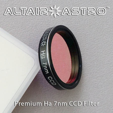 Altair Astro Premium Narrowband 7nm H-Alpha CCD Filter 1.25