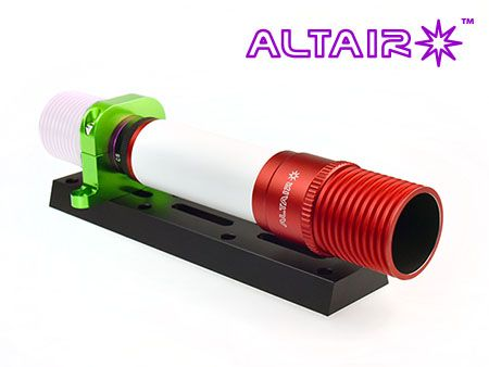 Altair MG32 Mini Guide Scope & Polar Alignment Scope + GPCAM Clamp + 200mm Dovetail Bar & Screw