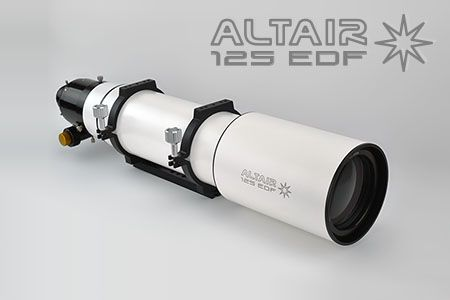 Altair Wave Series 125 EDF F7.8 APO Binoviewer ready 3.7 inch R&P Focuser