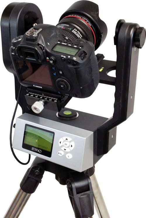 iOptron iPano Gigapixel Head for Panoramic Photography