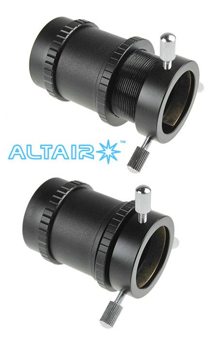 Precision Camera Focuser for auto guiding with Altair 60mm & 80mm RACI finder scope