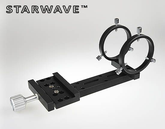 Starwave MiniGuider 60 Side-by-Side dovetail bar kit for Refractor auto-guiding